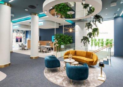 B Cruises offices by Avoris. Madrid. Spain