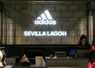 Adidas store. Seville. Spain