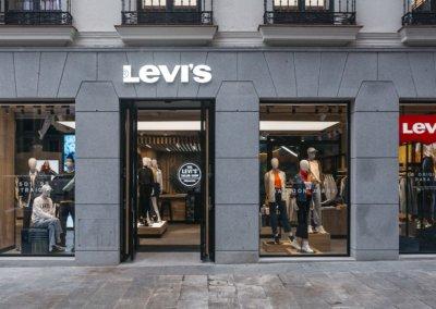 Showroom-Store Levi´s Preciados. Madrid. Spain