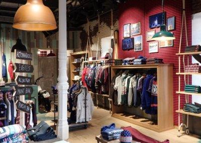 Altonadock stores. Madrid. Spain