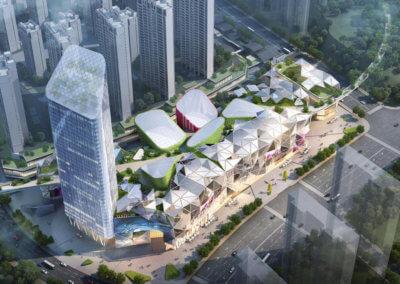 WUYUE Mall. Xining. China