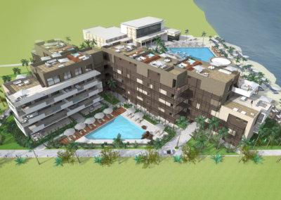 The Fives Residential. Playa del Carmen. México